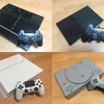 プレステの互換性まとめ。PS1・PS2・PS3・PS4で使用できるソフト・メモリカードは?