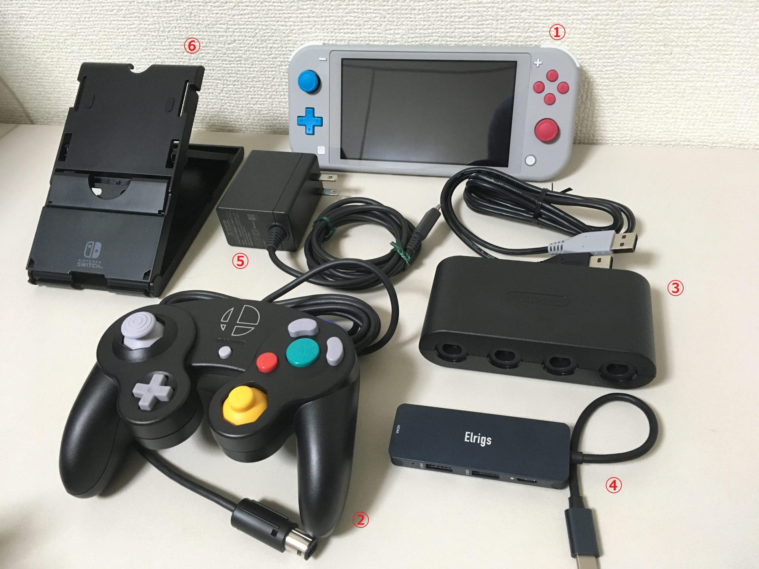 Gc コン switch