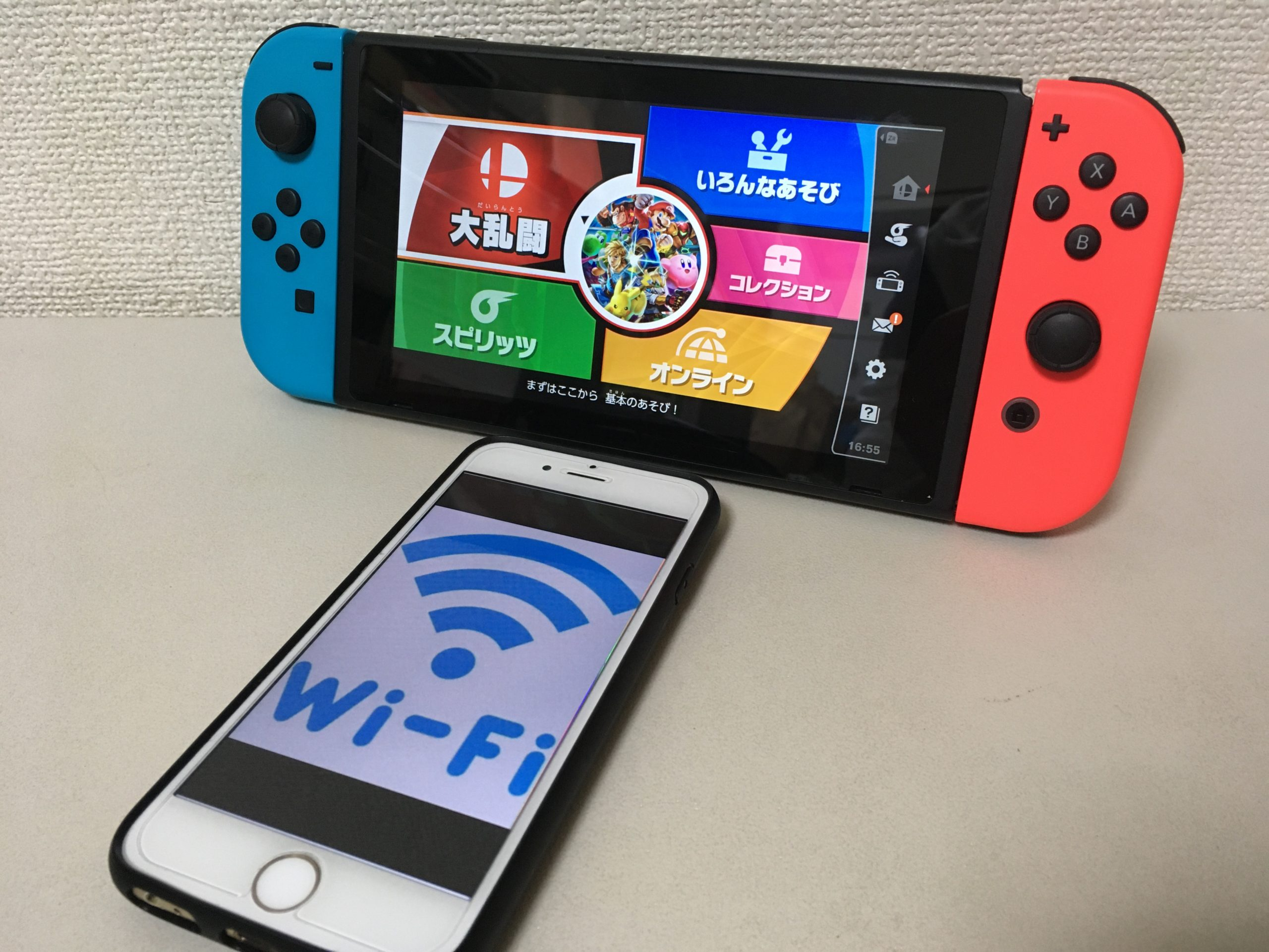 ワイファイ switch Nintendo SwitchをWi